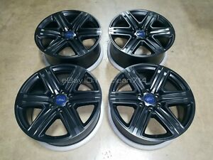 20 2018 20 Ford F150 Lariat Fx4 Black Wheels Rims Oem Factory 10172 19