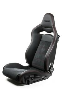 Sparco Spx Special Edition Gray Stitch Gloss Left Seat