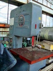 Band Saw Doall Vertical 26 Wide