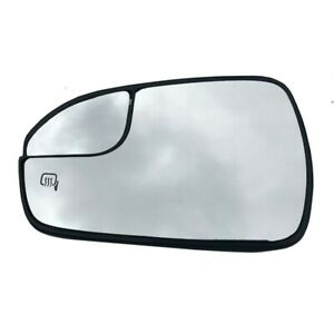 New Power Heated View Mirror Glass Left Side For 2013 20 Ford Fusion Ds7z17k707f