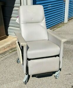 Champion 54 Series Grey Patient Recliner Medical Dialysis Chair