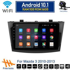 Android 10 1 Car Wifi Dvd Radio Stereo Gps Navi Bt Player For Mazda 3 2010 2013