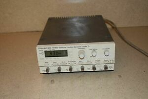 Wavetek 11 Mhz Stabilized Function Generator Model 21