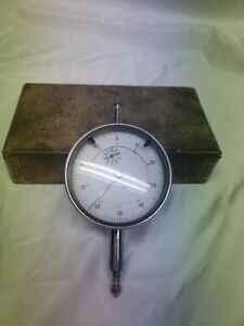 Vintage Dial Indicator Gauge For Precision Calibration Made In Germany