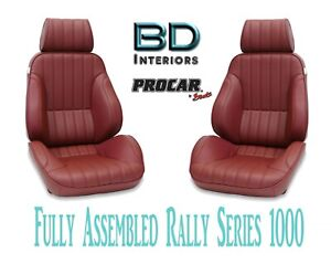 Full Seats 80 1000 56 Reclining Maroon Vinyl For 1997 2004 Ford Crown Victoria