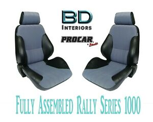Full Seats 80 1000 73 Gray Velour Black For 1997 2004 Ford Crown Victoria