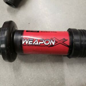 Weapon X Super Coils Set Of 4 Good Used