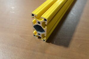8020 Extrusion Powder Coated 15 Series 1530 lite X 69 Yellow Sc F5 02