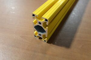 8020 Extrusion Powder Coated 15 Series 1530 lite X 66 Yellow Sc F1 05