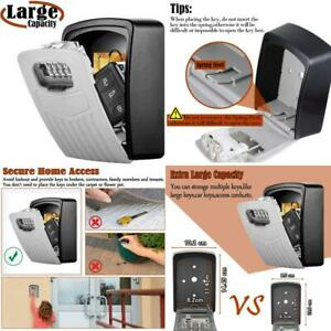 Extra Large Key Storage Security Lock v resourcing Sturdy Wall Mounted Outdoor
