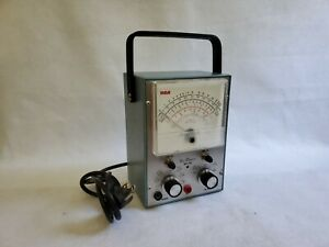 Rca Voltohmyst Wv 77e Volt Meter Great Condition y4