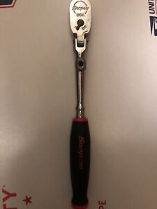 New Snap On Thrlx72 1 4 Red Soft Grip Quick Release Lockin Flex Head Ratchet