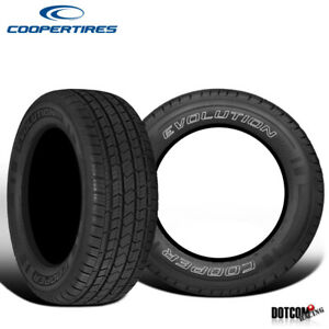 2 X New Cooper Evolution Ht 245 75r16 111t All Season Performance Tire