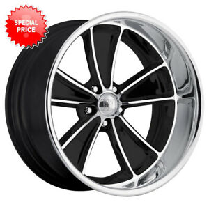 Blem Set Boyd Coddington Speedster 17x8 5x120 65 Et 6 Blk Mach Face Diamond