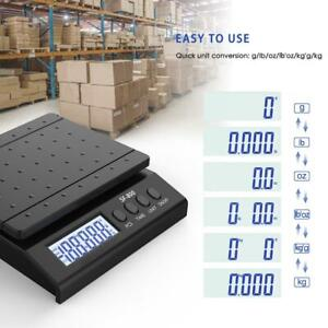66 Lb X 0 1 Oz All in one Pro Digital Postal Shipping Scale Weigh With Adapter