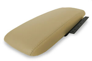 Console Armrest Cover Leather For Ford Crown Victoria Mercury 2003 2011 Beige