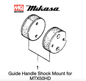 Shock Mount 1 Pc For Multiquip Mikasa Mtx50hd Rammers 368347630