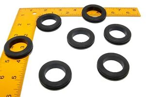 Rubber Grommets For 1 1 4 Panel Hole 1 Id 1 16 Panel Thickness sbr Rubber