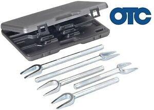 Otc 6299 5 Piece Pickle Fork Ball Joint Separator Tool Set New Free Shipping Usa