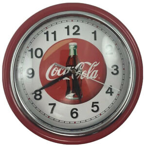 Coca Cola Clock Glass Facing 9 1/4