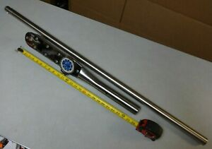 Torque Wrench 1 Drive Usa Precision D5f1000f Dial Type Huge 200 1000 Ft Lbs