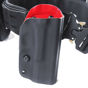 Fits Glock 19 Gen 3 4 5 OWB Red Kydex Molle Open Carry Retention Holster Right $29.95