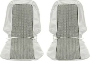 Front Bucket Seat Covers 1971 72 Chevy Pickup Truck Blazer