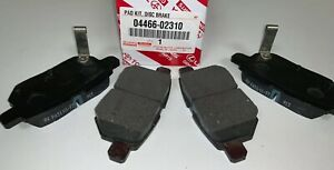 2008 2019 Toyota Corolla Rear Brake Pads Genuine 04466 02310