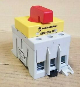 Techno Electric sd2 063 rr 3 phase 63 Amp Rotary Disconnect Switch J234