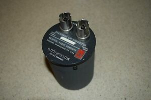 General Radio Standard Air Capacitor Type 1403 v 0 001 Pf 1 0 tt