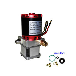 Dc12v Hydraulic Oil Pump W Brushless Dc Motor For Model Excavator Tamiya Dumper