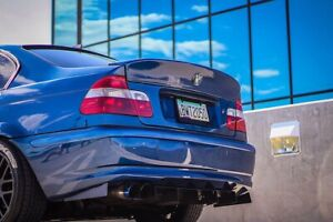 Bmw E46 E36 E39 Rear Bumper Diffuser M tech M3 M5 Drift king Tuning Drift