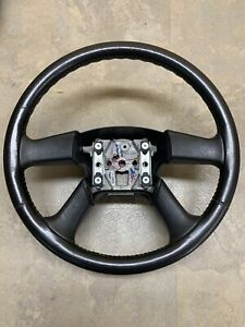 03 06 Chevy Silverado Gmc Sierra More Genuine Steering Wheel Oem Leather