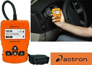 Actron Cp9660 Pocketscan Plus Abs Obd Ii Can Scan Tool For 1996
