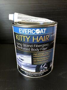 Evercoat Kitty Hair Fiberglass Reinforced Body Filler Quart