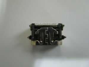 Hdmi 19 Pin Pcb Male Connector Mount 4 Prong