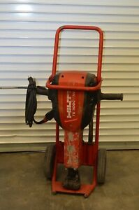 Hilti Te 3000 avr Jack Hammer Demo Demolition Hammer 120v With Cart