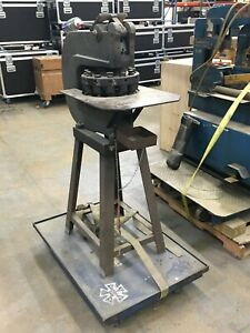 12 Station Wiedemann Type R2 Manual Rotary Turret Punch Press