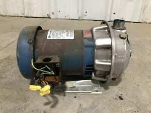 G l Goulds 1st20735 Stainless Steel Centrifugal Pump 1 x1 1 4 6 4 Imp 3ph