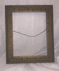 Vintage Antique Wooden Gold Ornate Picture Frame 9 5 X7 5 Inner