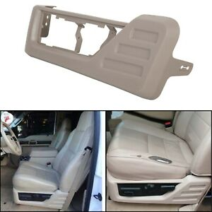 For 2008 2010 Ford F250 F350 Super Duty Medium Stone Gray Driver Seat Panel Trim