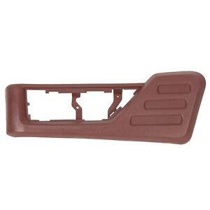 For 08 10 Ford F250 F350 Super Duty Front Driver Seat Panel Trim Red