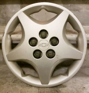 1 Oem 2000 05 Chevy Cavalier Base 14 Bolt On Hubcap Wheel Cover Gm 9594639