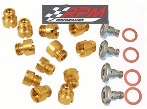 Holley Carburetor Main Jets Kit 50 109 Any Size 20 Pack 4 Power Valves