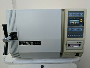 Tuttnauer 2540eka Autoclave W Recorder Pre owned Excellent Working Condition