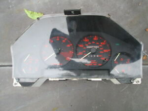 84 85 Mazda Rx7 Gsl Oem 12a 5spd Speedometer Complete Assembly Miles 185 648