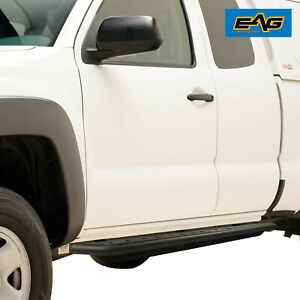 Eag Steel Rock Sliders Running Boards Fit For 05 18 Tacoma Double Cab