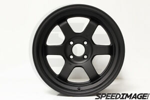 Rota Grid V Wheels Flat Black 16x8 20 4x100 For Civic Integra Del Sol
