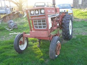 Internation Harvester Model 274 Diesel Offset Cultivator Tractor 1529 Actual Hrs
