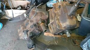 1978 Chevy K30 Truck Sm465 4sp 4wd Trans And Np205 Transfer Case
